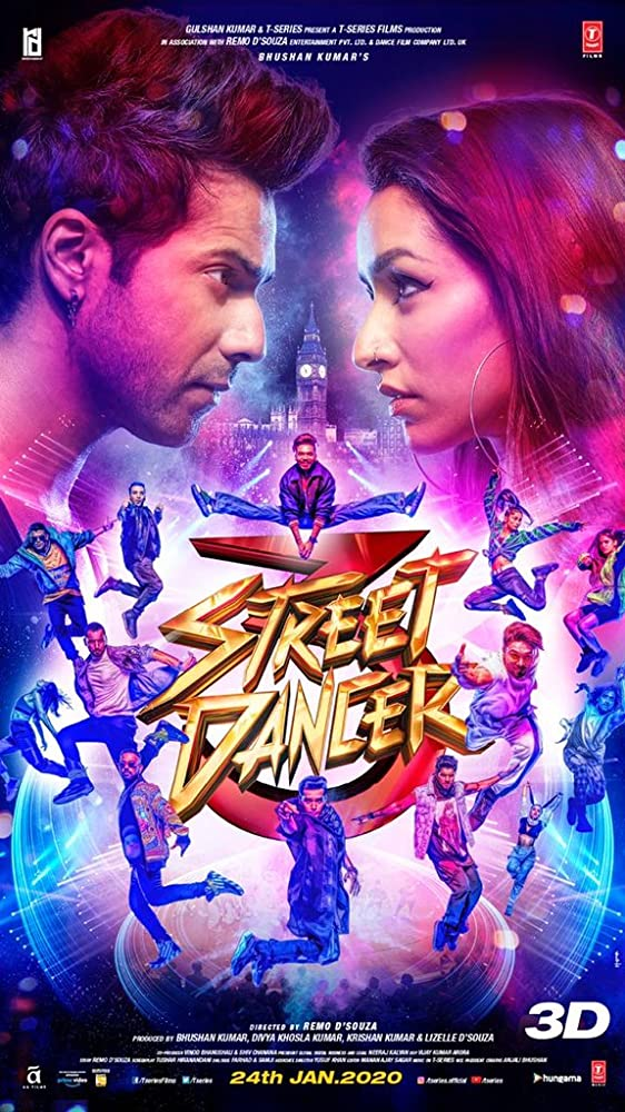 Street Dancer 3D 2020 Movies Watch on Amazon Prime Video