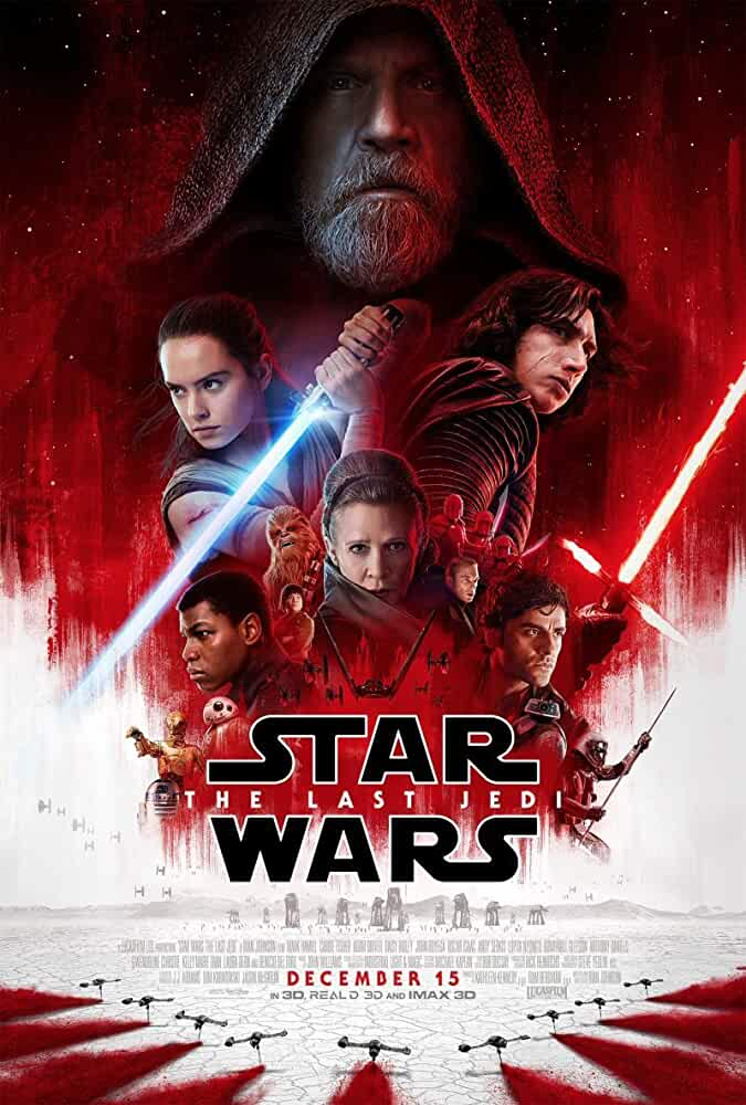 Star Wars: Episode VIII - The Last Jedi 2017 Movies Watch on Disney + HotStar