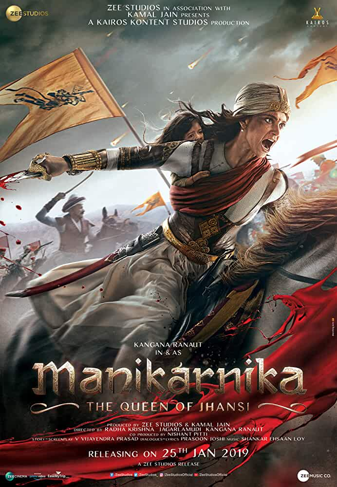 Manikarnika: The Queen of Jhansi 2019 Movies Watch on Amazon Prime Video