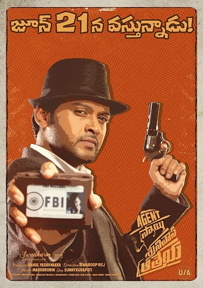 Agent Sai Srinivasa Athreya 2019 Movies Watch on Amazon Prime Video