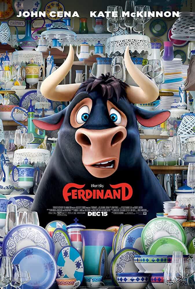 Ferdinand 2017 Movies Watch on Disney + HotStar