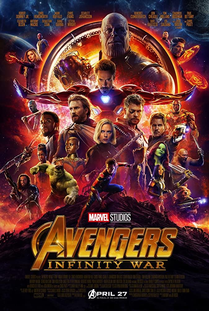 Avengers: Infinity War 2018 Movies Watch on Netflix
