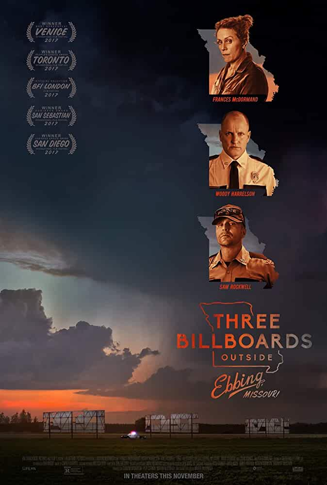Three Billboards Outside Ebbing, Missouri 2017 Movies Watch on Disney + HotStar