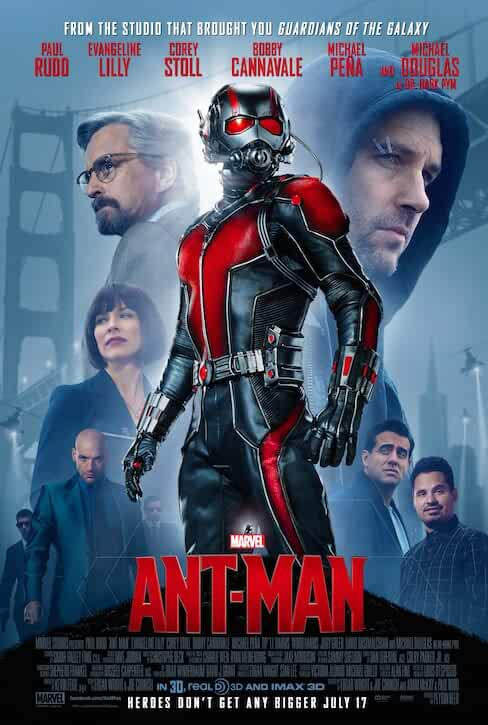 Ant-Man (2015) 2015 Movies Watch on Disney + HotStar