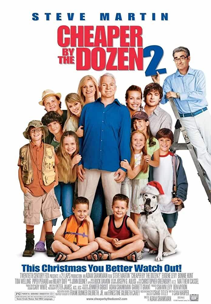 Cheaper by the Dozen 2 2005 Movies Watch on Disney + HotStar