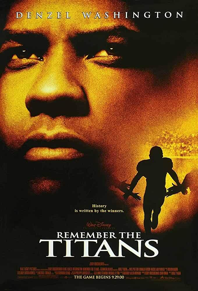 Remember the Titans 2000 Movies Watch on Disney + HotStar