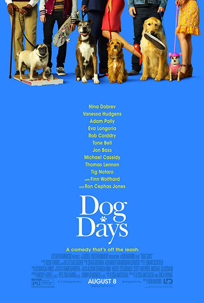 Dog Days 2018 Movies Watch on Disney + HotStar