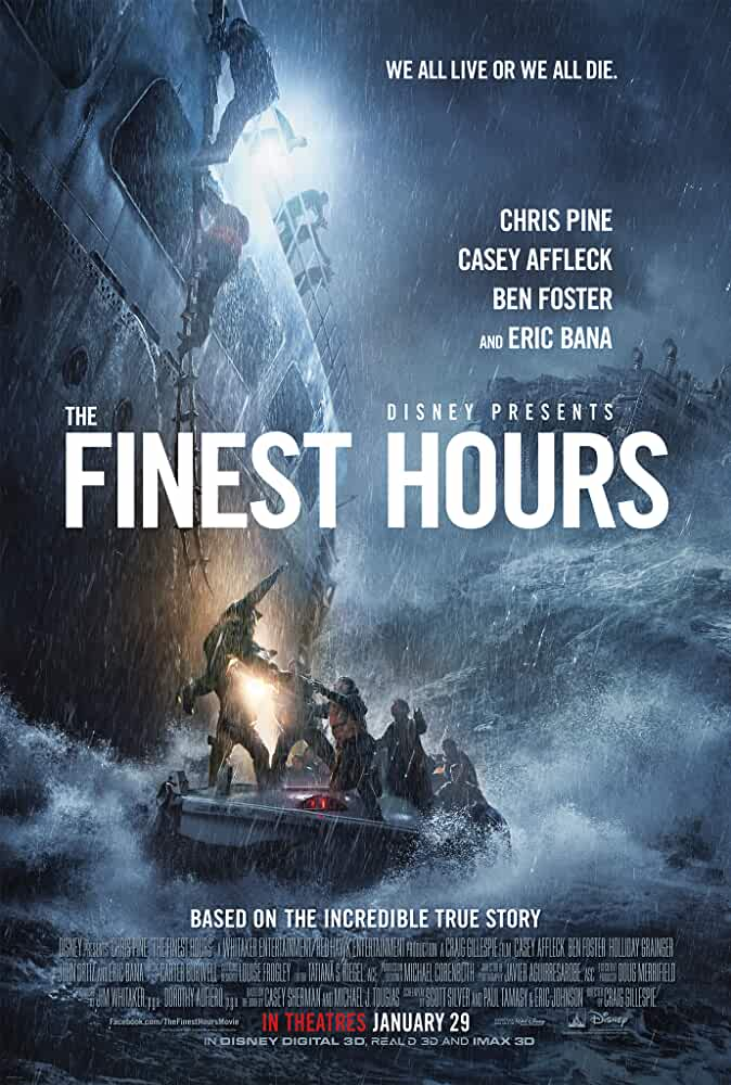 The Finest Hours 2016 Movies Watch on Disney + HotStar
