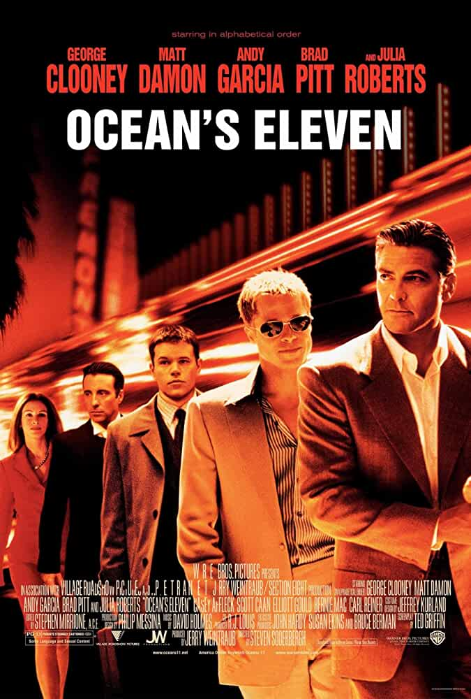 Ocean's Eleven 2001 Movies Watch on Amazon Prime Video