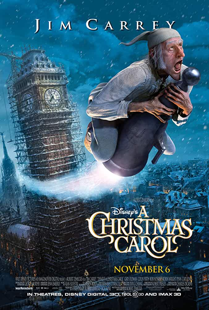 A Christmas Carol 2009 Movies Watch on Disney + HotStar