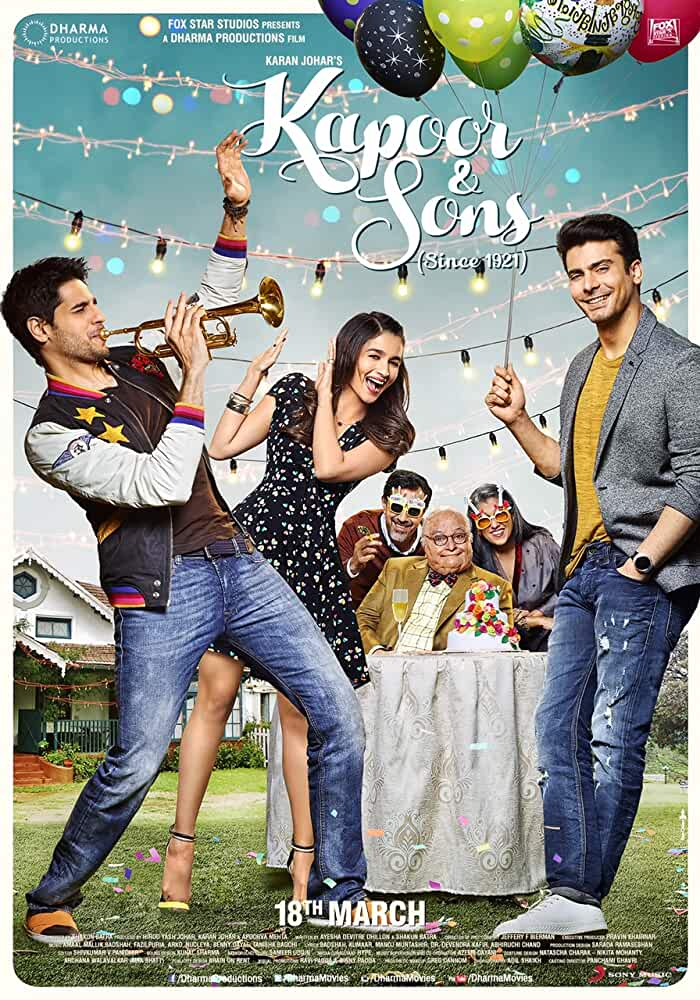 Kapoor & Sons 2016 Movies Watch on Amazon Prime Video