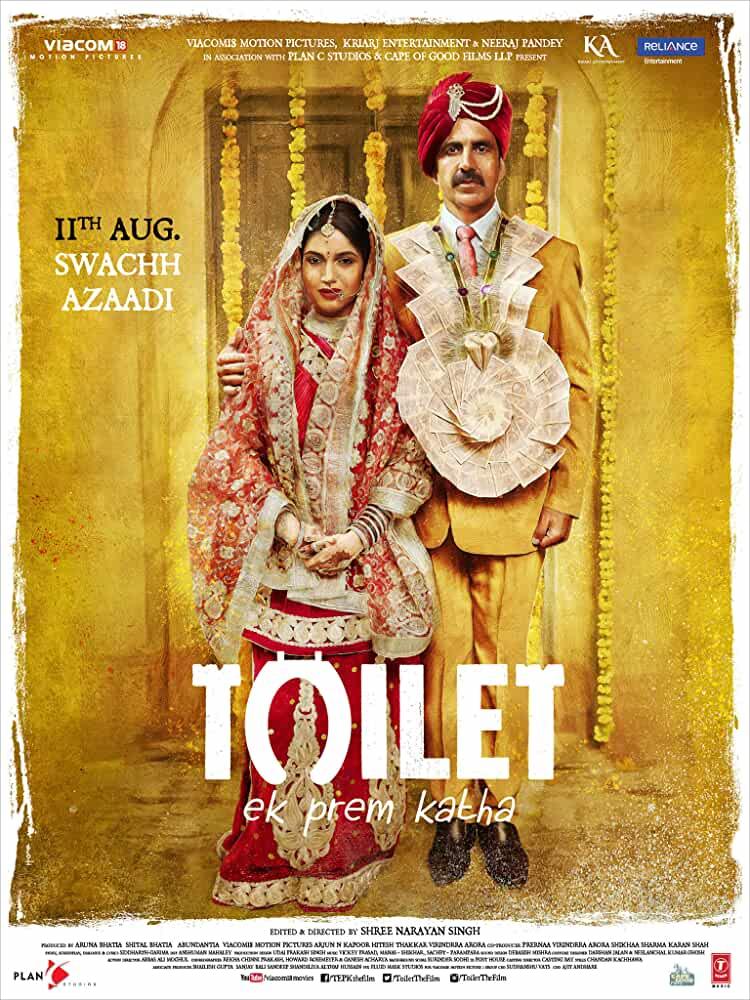 Toilet: Ek Prem Katha 2017 Movies Watch on Netflix
