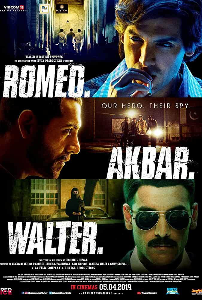 Romeo Akbar Walter 2019 Movies Watch on Netflix