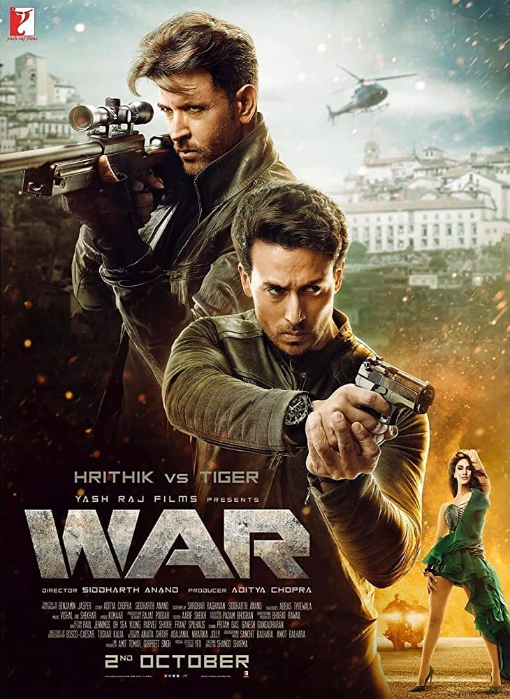 War 2019 Movies Watch on Amazon Prime Video