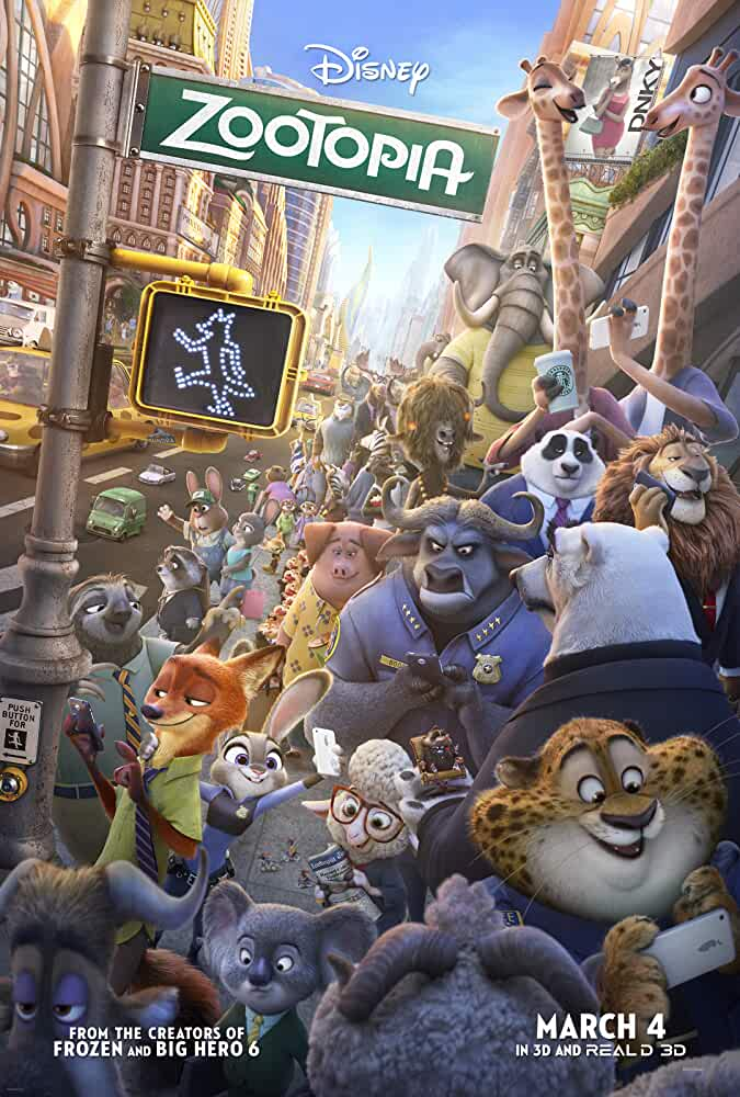 Zootopia 2016 Movies Watch on Disney + HotStar