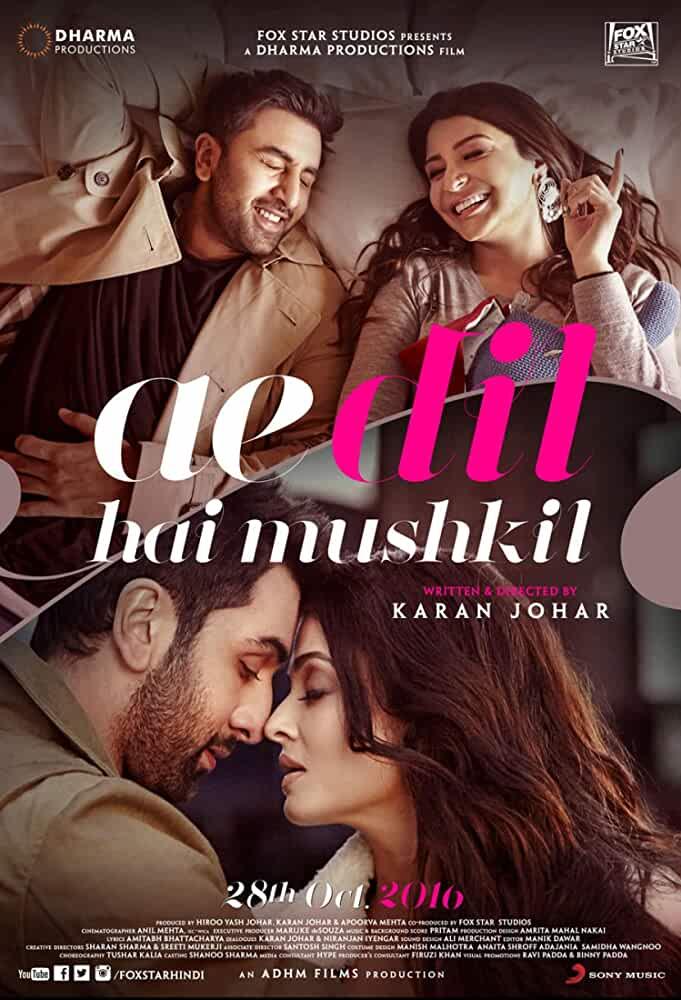 Ae Dil Hai Mushkil 2016 Movies Watch on Amazon Prime Video