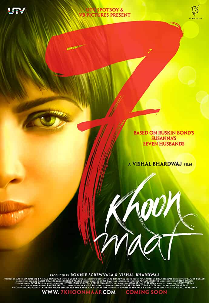 7 Khoon Maaf 2011 Movies Watch on Netflix