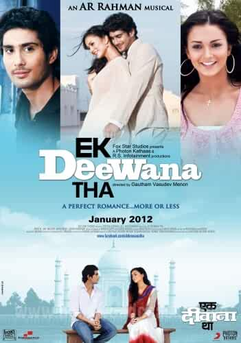 Ekk Deewana Tha 2012 Movies Watch on Disney + HotStar