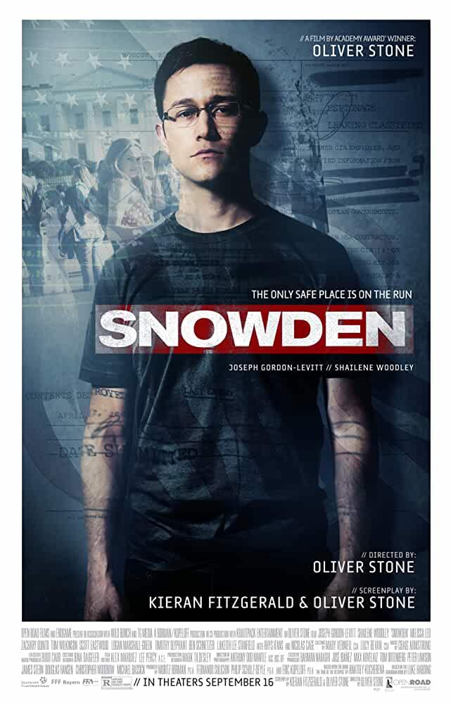 Snowden 2016 Movies Watch on Netflix