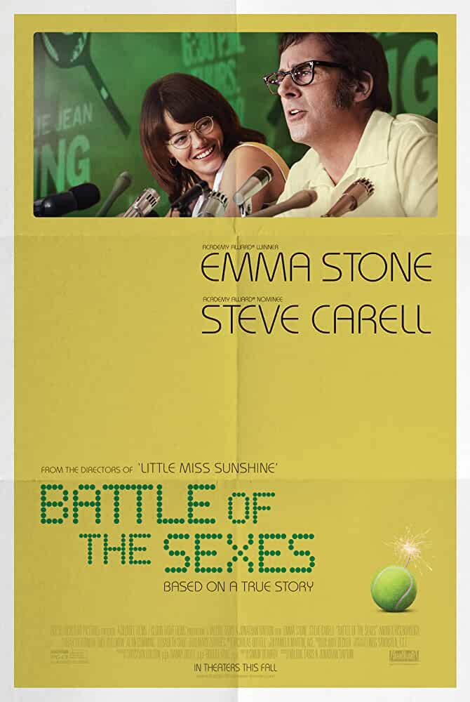 Battle of the Sexes 2017 Movies Watch on Disney + HotStar